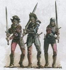 Warhammer-Empire-Chevaliers demi griffons-Déco caparaçon griffon