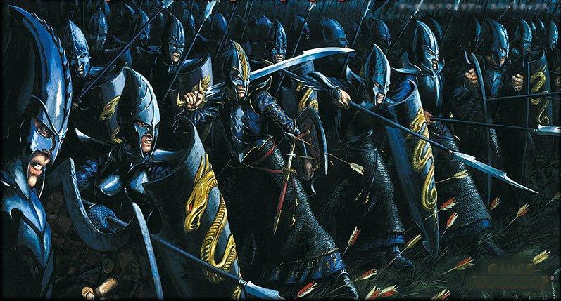 L'armée du Mordor Guerriers_Elfes_Noirs
