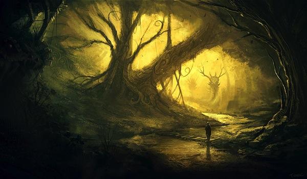 L'atelier de Rhydysann Tree_in_cave