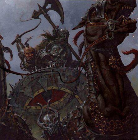 Warhammer Battle-Char du chaos-Corps guerrier du chaos